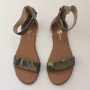 Yosi Samra Camouflage Sandals!!